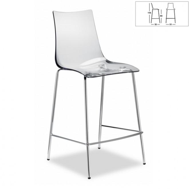 Meubles design mobiliers design design d 39 un jour - Tabouret haut transparent ...