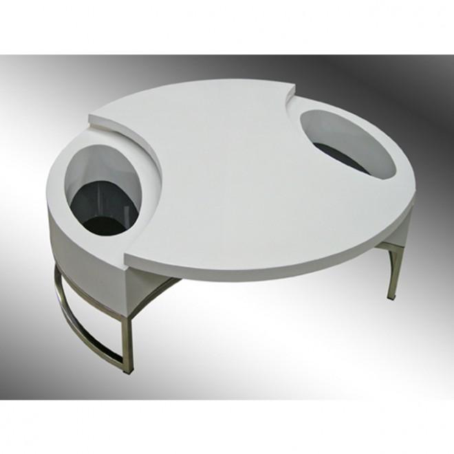 Meubles design mobiliers design design d 39 un jour - Table avec plateau tournant ...