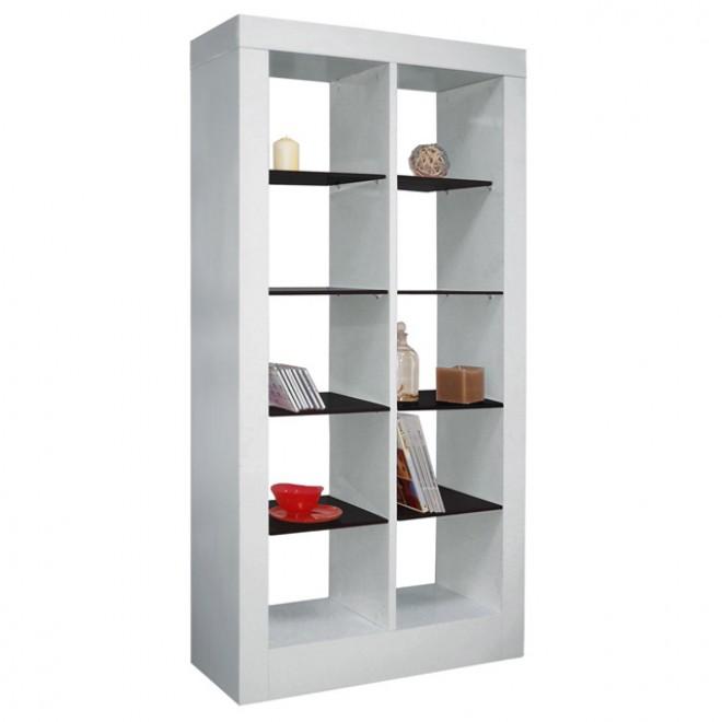 Meubles design mobiliers design design d 39 un jour - Tablette blanc laque ...
